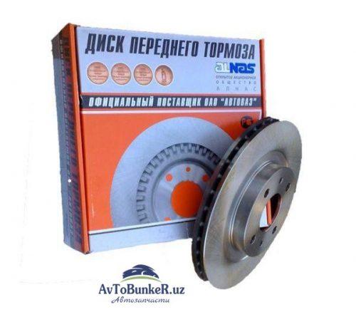 Диск тормозной ALNAS 2110 стандарт (2 штуки)