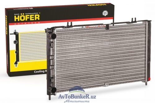 Радиатор охлаждения алюминиевый ВАЗ 2170 Приора без кондиционера Hofer