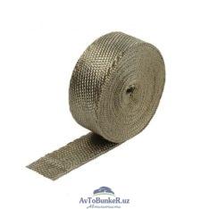Термолента 50mm*10,5m Titanium, до 1000°