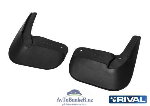 Комплект задних брызговиков, RIVAL, Lada Largus Cross 2012-
