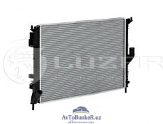 Радиатор основной LARGUS 16кл с конд LUZAR