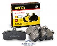 Тормозные колодки перед HOFER 2108-2170