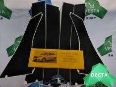 Виниловая отделка стоек Lada Vesta SD