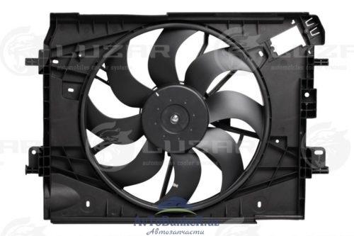 Электровентилятор охлаждения с кожухом для автомобилей X-Ray/Vesta (15-) A/C+